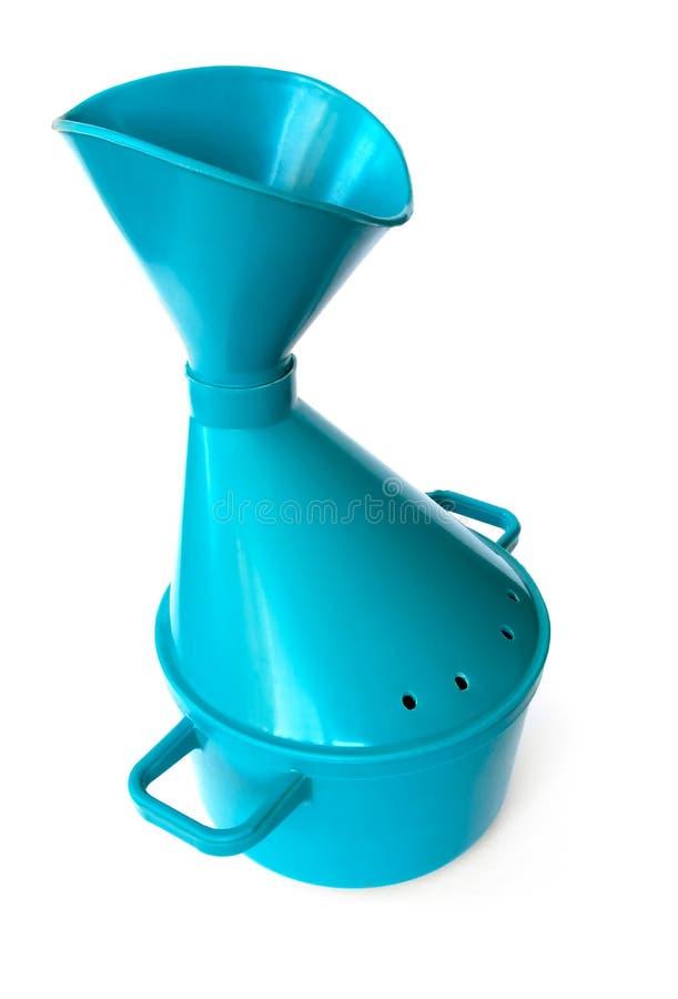 błękitny inhalator fotografia stock