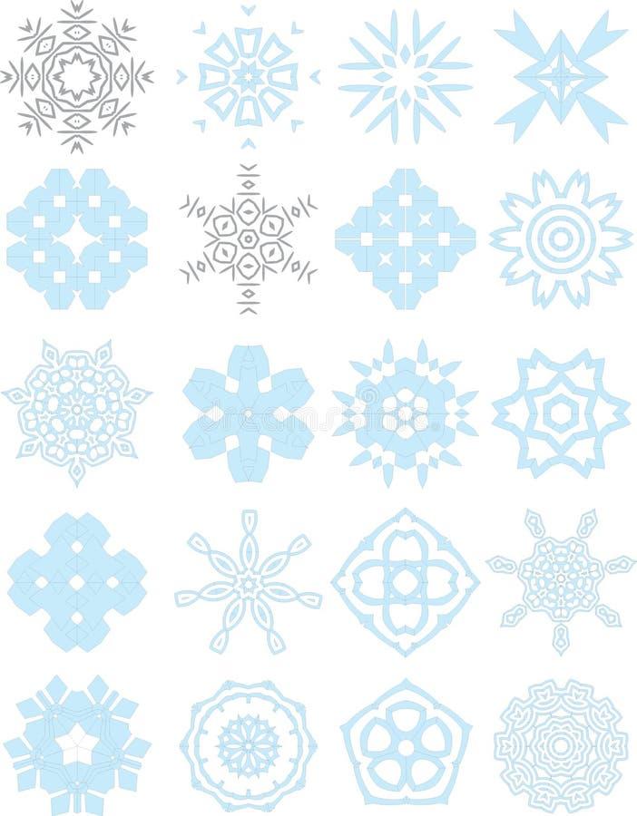 błękitny inkasowi koronkowi ornamenty obraz royalty free