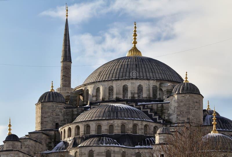 błękitny Istanbul meczetu indyk obrazy stock