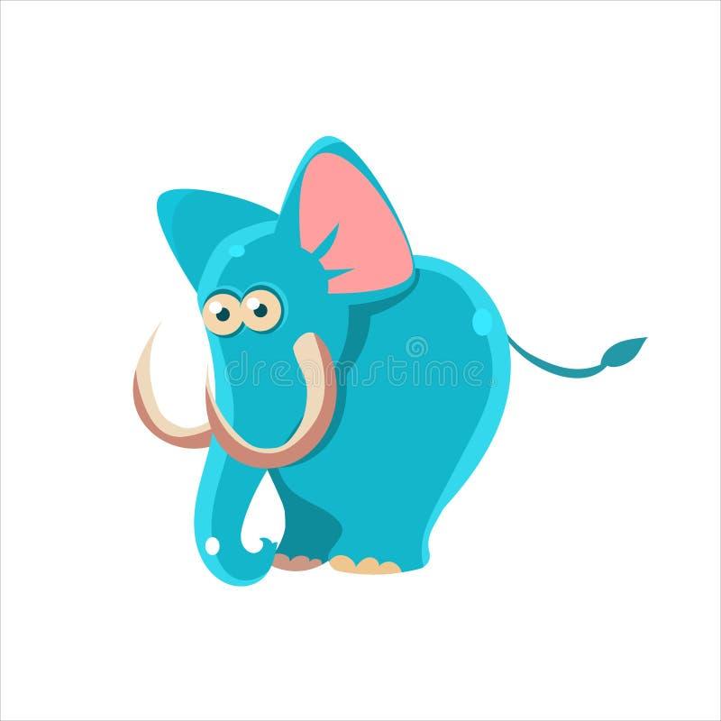 błękitny ja target3104_0_ słonia royalty ilustracja