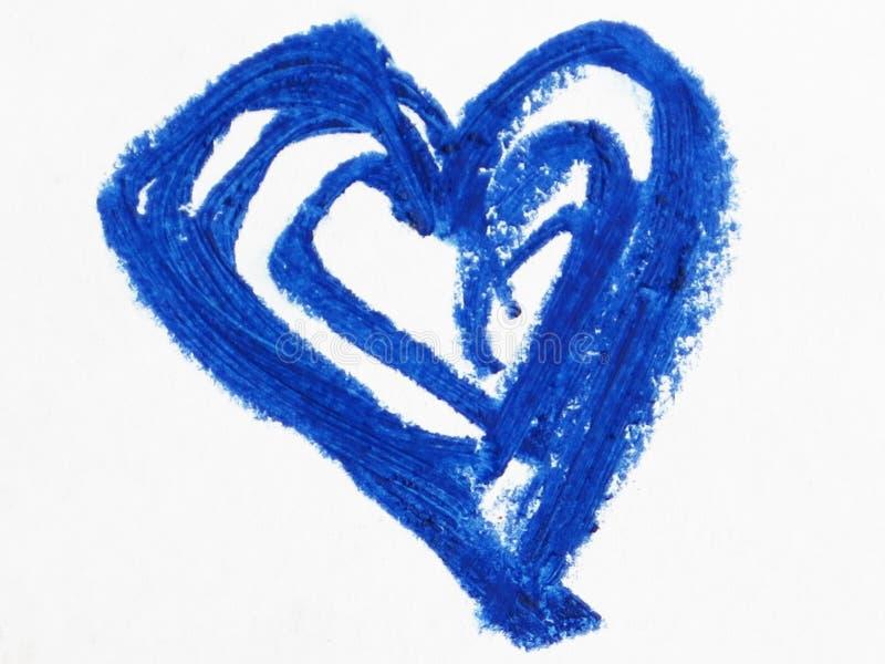 Błękitny kierowy kształt zdjęcia royalty free
