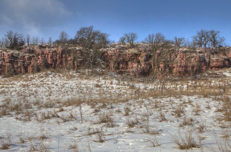Błękitny kopa stanu park, Minnestoa obrazy stock