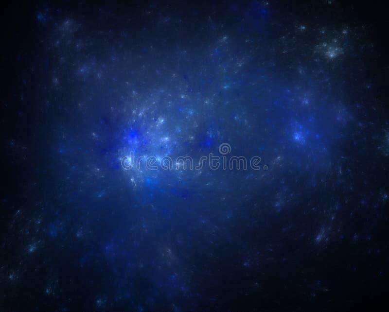 błękitny kosmos zdjęcia stock
