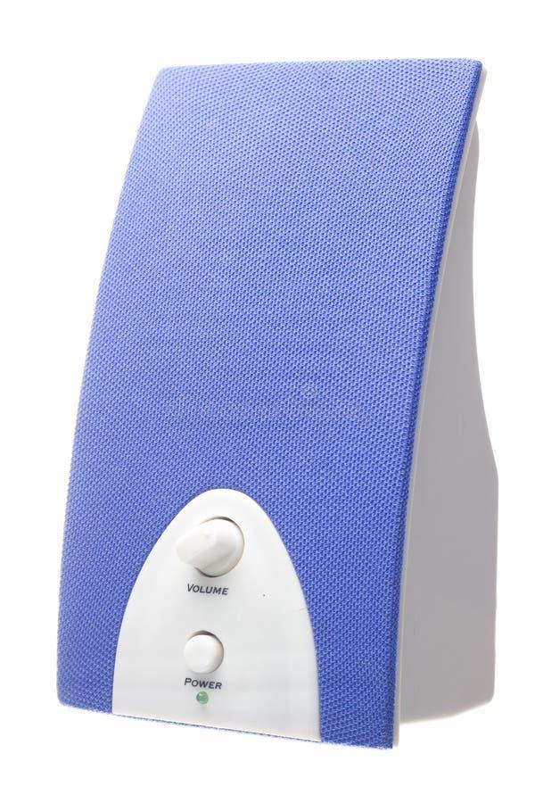 błękitny mówca zdjęcia stock