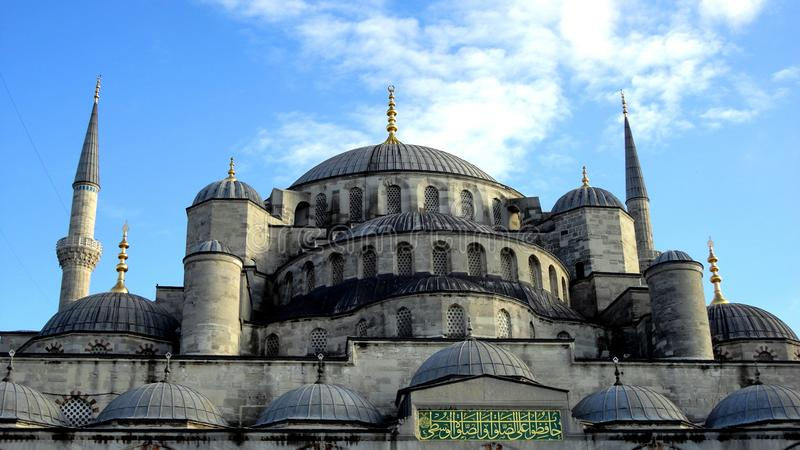 Błękitny meczet zdjęcie royalty free