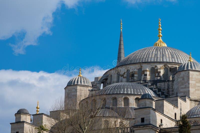 Błękitny meczet przy Istanbuł, Turcja Duży meczet w Istanbuł sułtan Ahmed obrazy royalty free