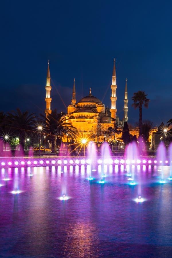 Błękitny meczet przy Sultanahmet kwadratem obraz royalty free