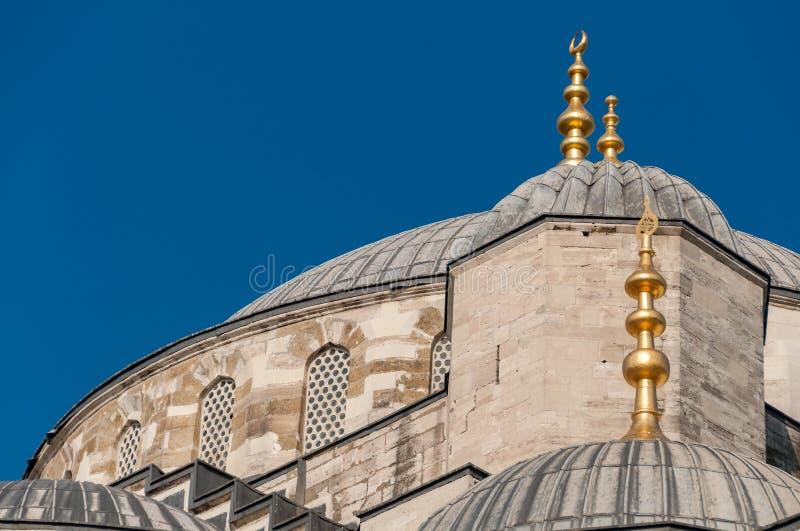 Błękitny meczet, Sultanahmed Camii architektoniczni szczegóły istanbul fotografia royalty free