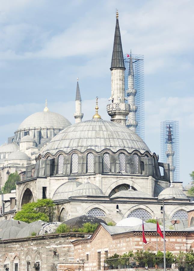 Błękitny meczet, Sultanahmet Camii, Istanbuł obraz royalty free