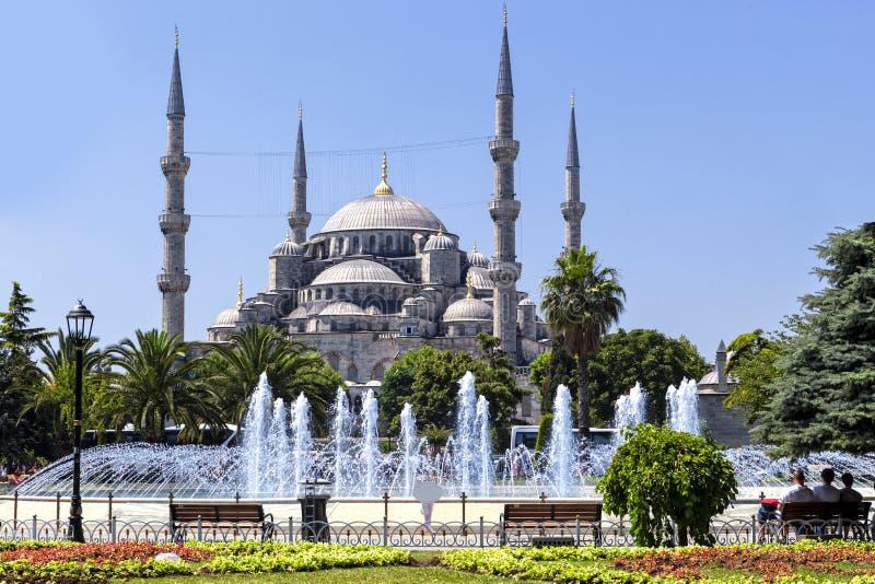 Błękitny Meczetowy Istanbuł Turcja obrazy stock