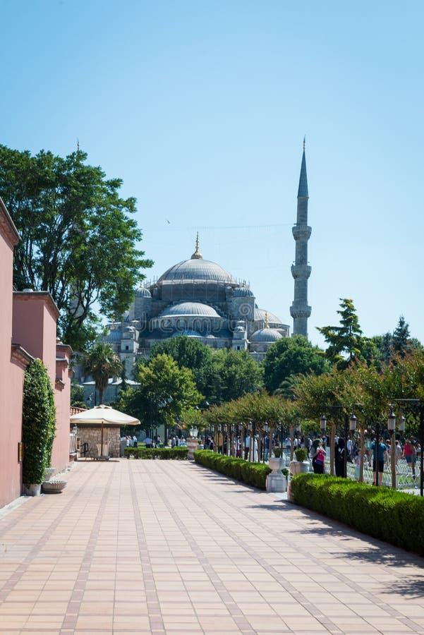 Błękitny Meczetowy Turcja zdjęcia stock