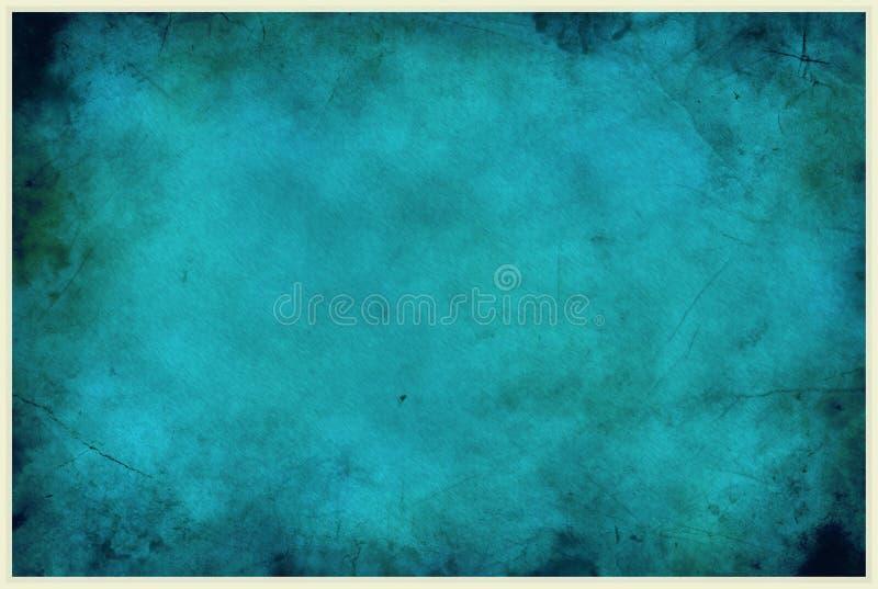Błękitny Miastowego gnicia tło zdjęcia stock