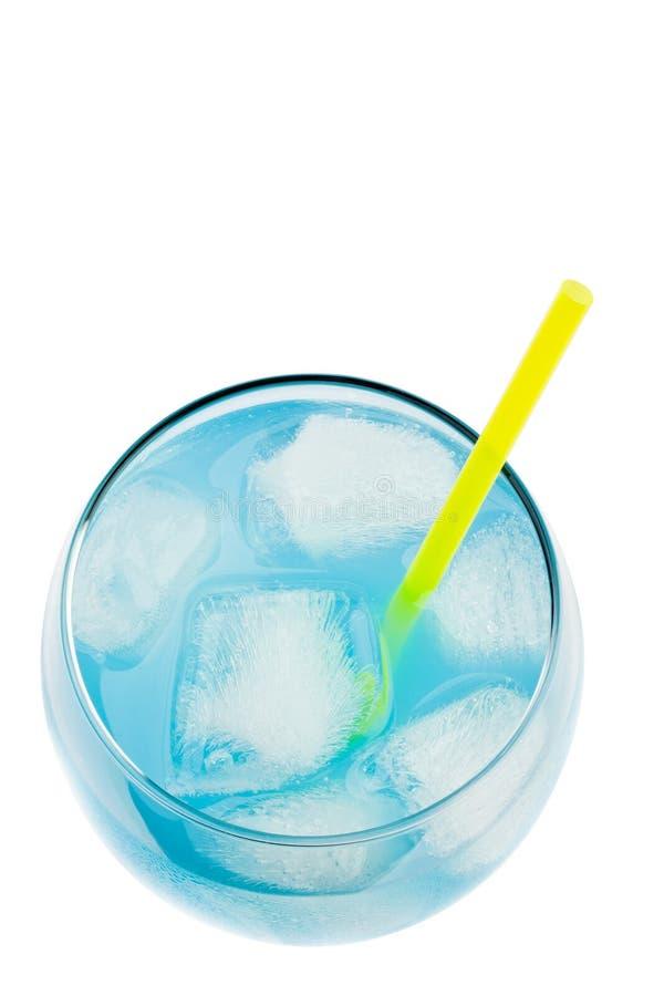 błękitny napój obraz stock