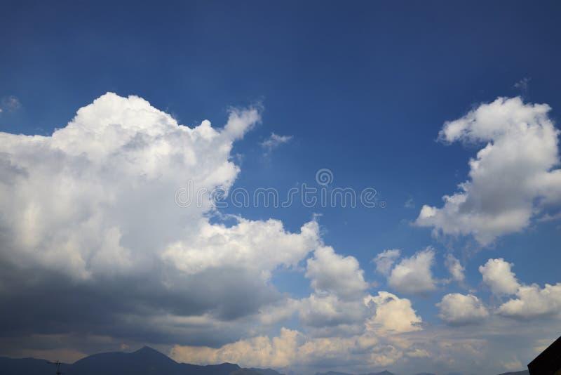 Błękitny niebo zdjęcia royalty free