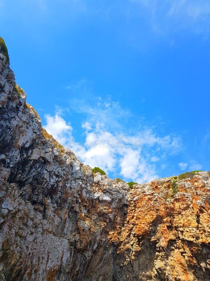 Błękitny niebo obrazy stock