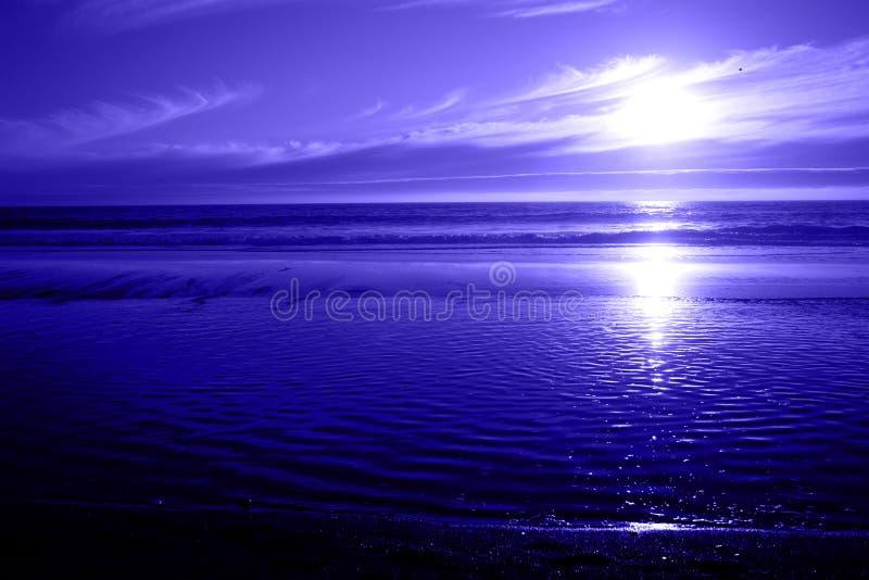 błękitny ocean seascape obraz stock