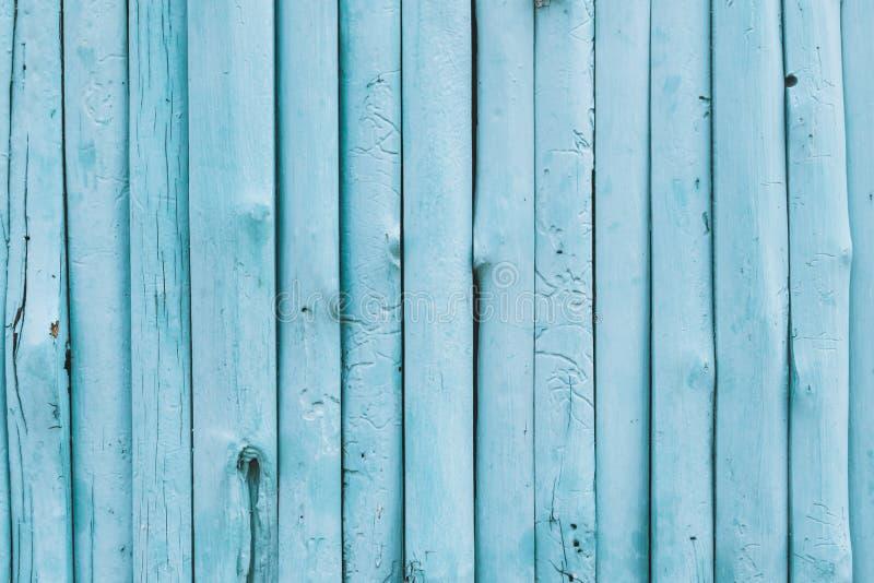 Błękitny oceanu koloru drewna tło obrazy royalty free