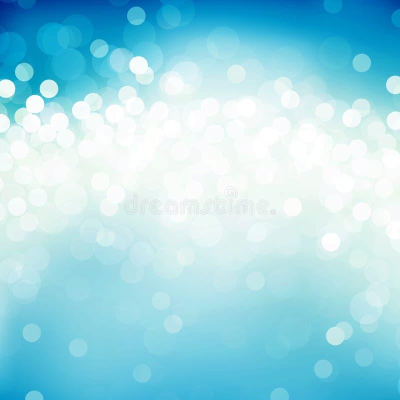 błękitny plamy royalty ilustracja