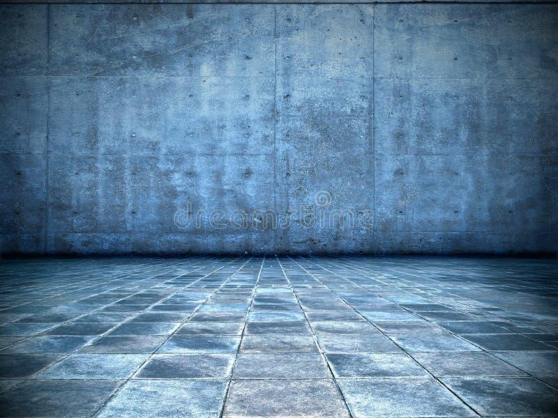 błękitny pokój zdjęcie stock