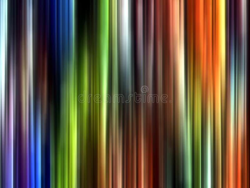 Błękitny pomarańczowy zielonej liny tło, grafika, abstrakcjonistyczny tło i tekstura, ilustracja wektor