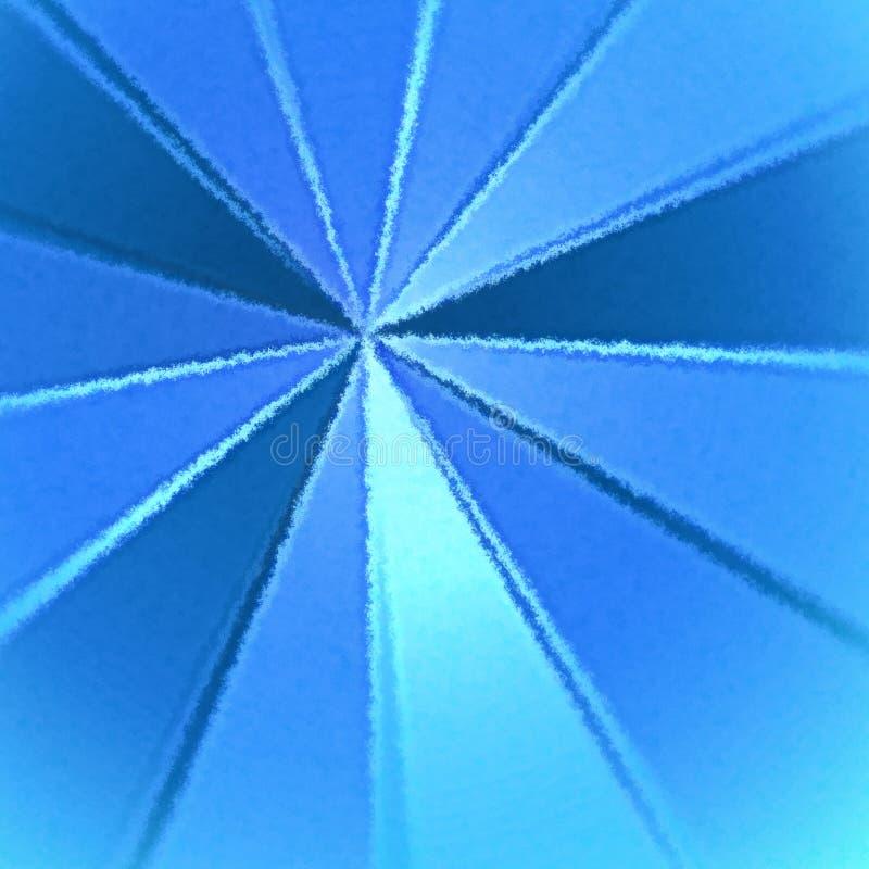 Błękitny promienia tło royalty ilustracja