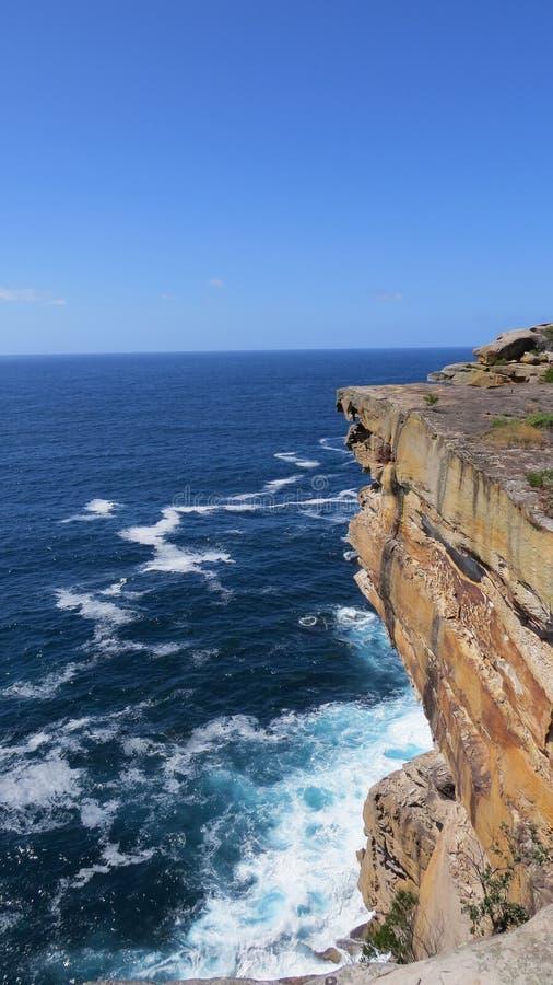 Błękitny Prominentry, morze i niebo i obrazy stock