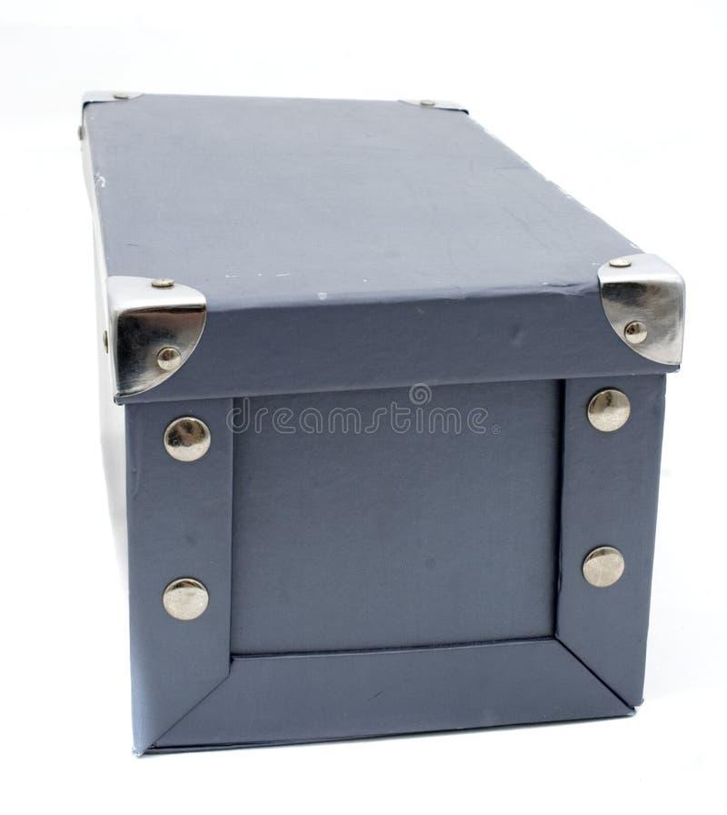 błękitny pudełko zdjęcie royalty free