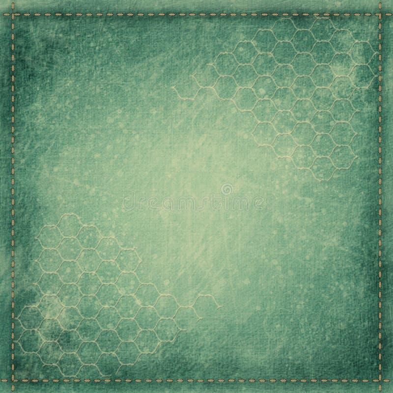 Błękitny rocznika tło dla album strony lub pokrywy obraz royalty free