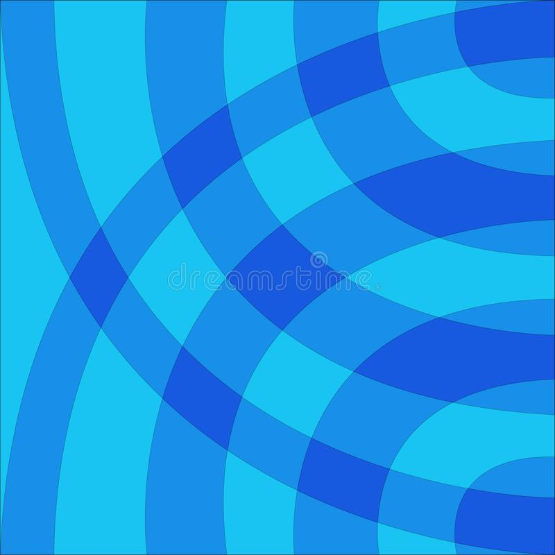 Błękitny błękitny rysujący łuku tło ilustracji
