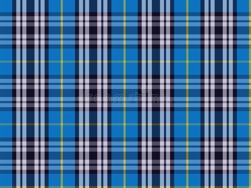 Błękitny Sarung wzór zdjęcie stock