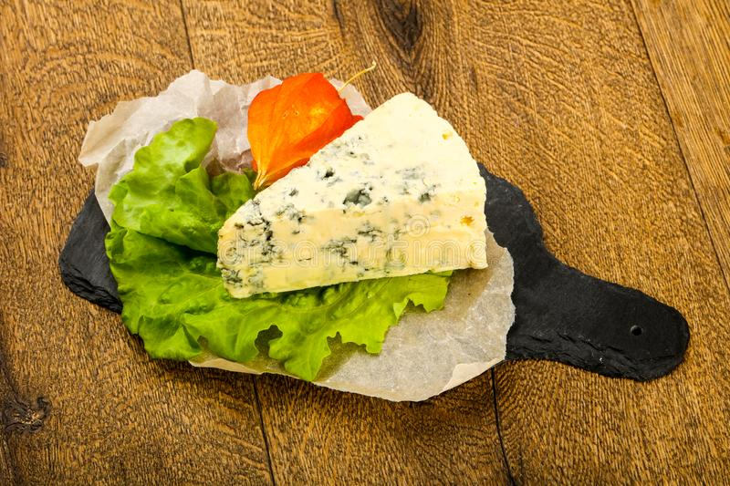 Błękitny ser zdjęcie stock