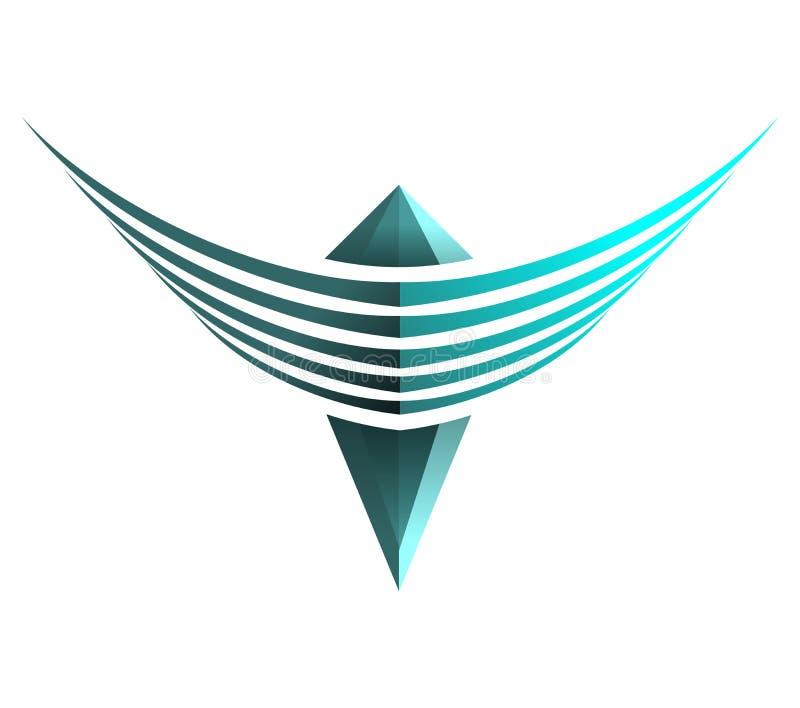 błękitny skrzydła obraz stock