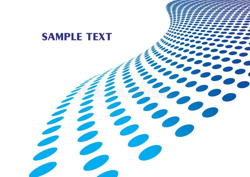 błękitny szablon ilustracji