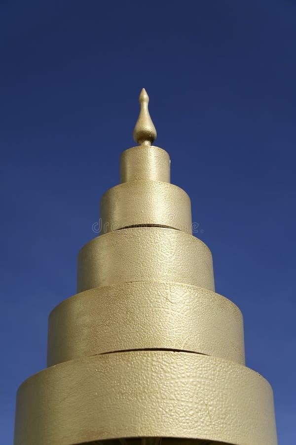 błękitny szczegółu nieba świątynia Thailand obrazy royalty free
