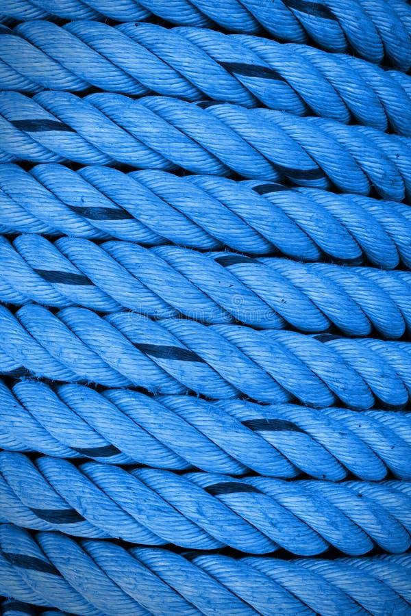 Błękitny szorstki linowy abstrack tło fotografia royalty free