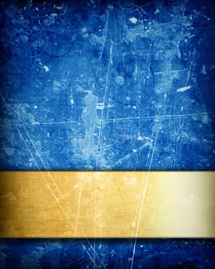 Błękitny tło ilustracji