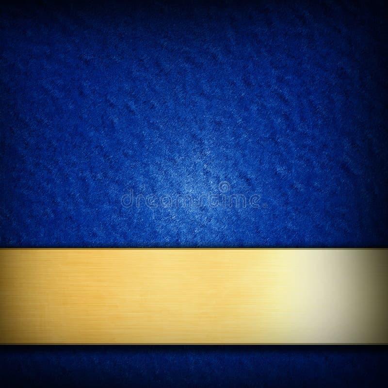 Błękitny tło royalty ilustracja