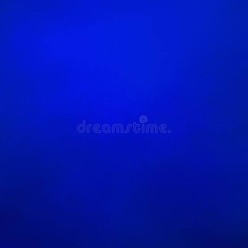Błękitny tło, abstrakcjonistyczny stały błękitny kolor z słabo textur, śmiały i jaskrawy ilustracja wektor