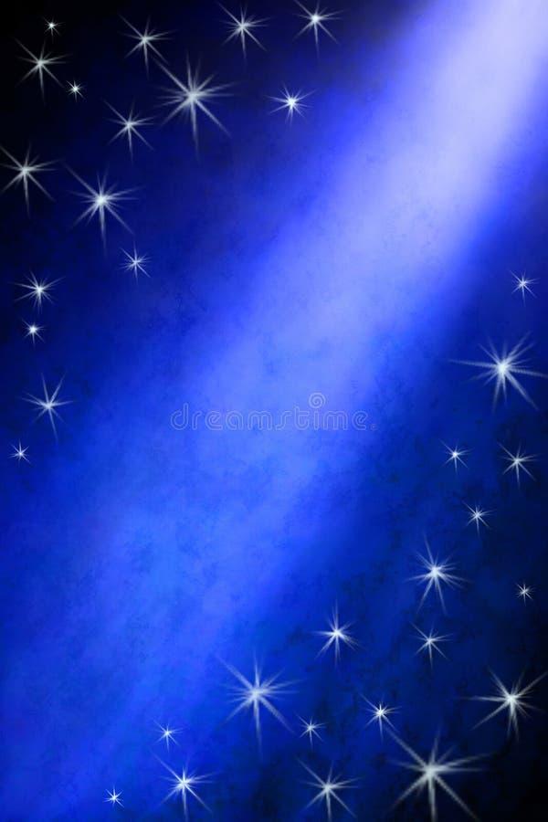 błękitny tło gwiazda zdjęcia stock
