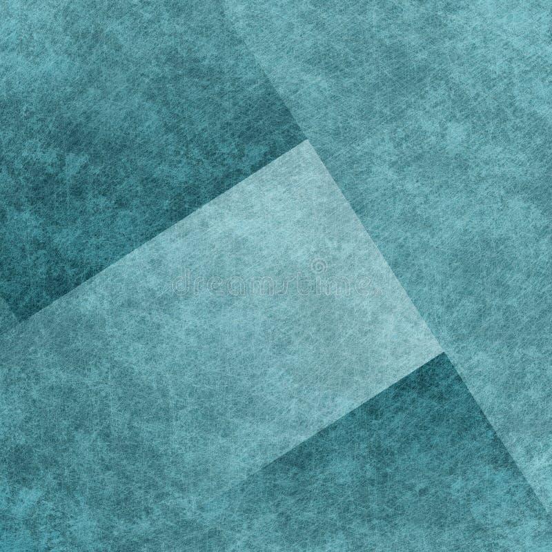 Błękitny tło lub czarny tło z starym pergaminowym rocznikiem g royalty ilustracja