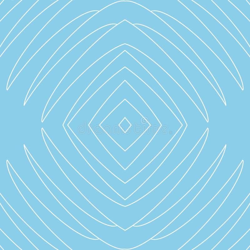 Błękitny tło, matryca zwierzęcy kieł na bławym tle royalty ilustracja