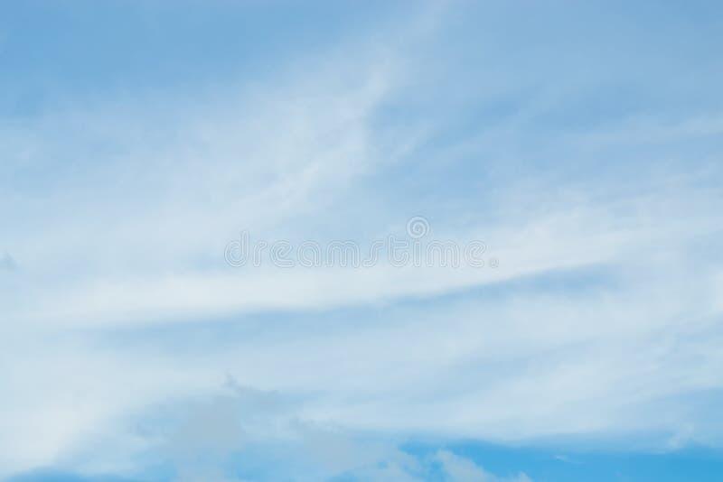 Błękitny tło w powietrzu obrazy royalty free