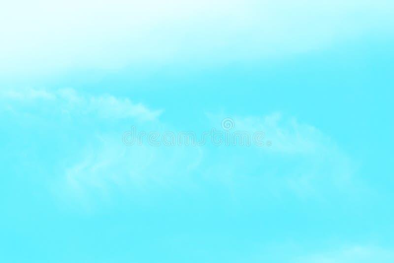 Błękitny tło w powietrzu zdjęcie stock
