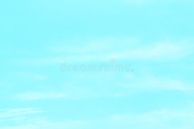 Błękitny tło w powietrzu fotografia royalty free