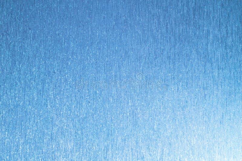 Błękitny tło z liniami i błyska fotografia royalty free