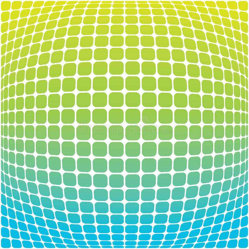 błękitny tło zieleń ilustracja wektor