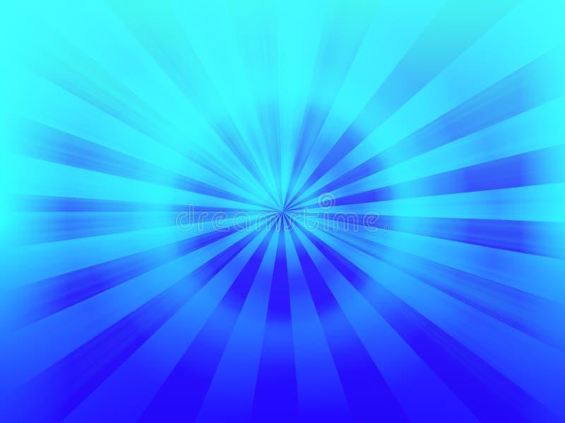 błękitny tajemnica ilustracja wektor