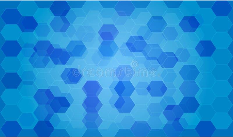 Błękitny techniki tło, ilustracyjny tło, sieci tło ilustracja wektor