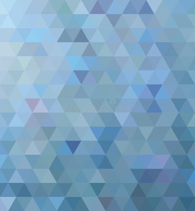 Błękitny trójbok zdjęcie stock