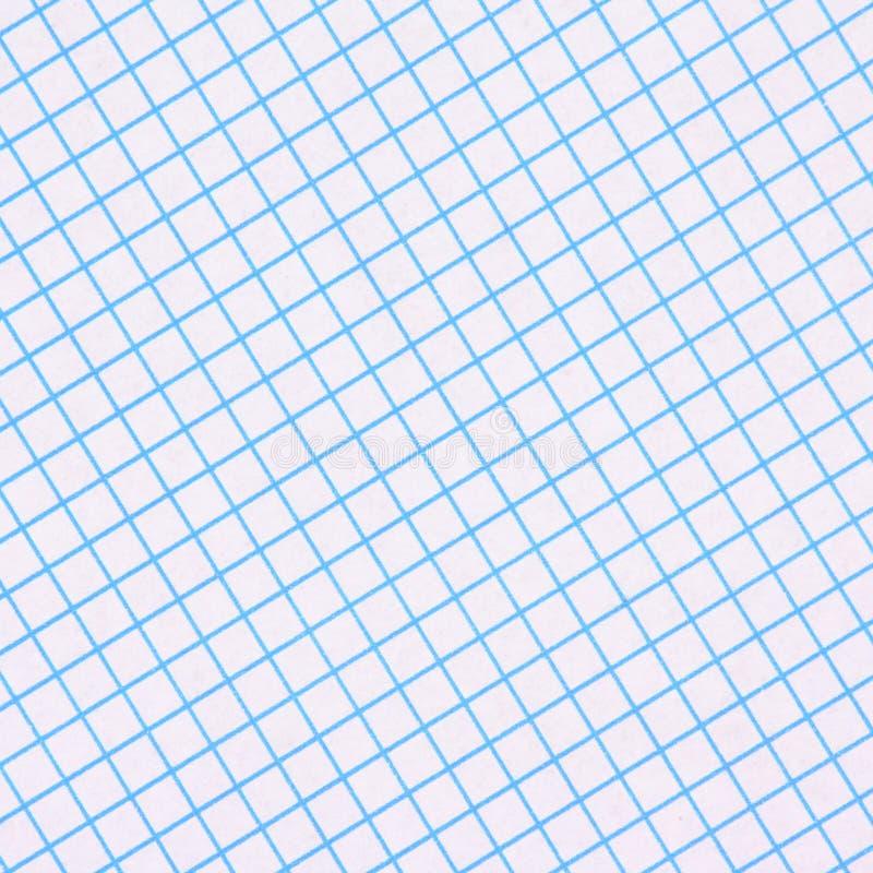 Błękitny wykresu papieru tło zdjęcia royalty free